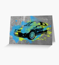 Clio 172 Cup Greeting Card