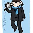 SHERLOCK poster by geothebio