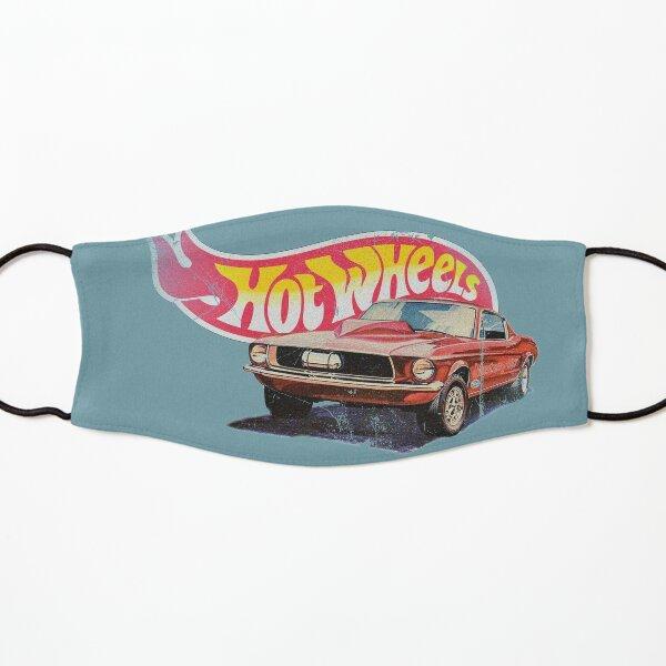 Mustang- 1968 Custom - Vintage, Distressed Hot Wheels  1968 Custom - Red Line Kids Mask