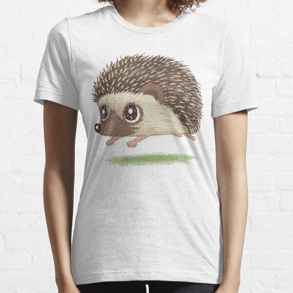 Hedgehog running Essential T-Shirt