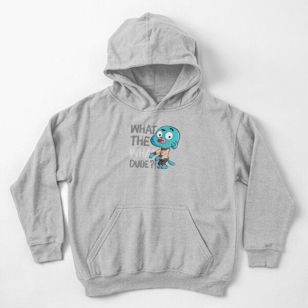 WHAT THE WHAT DUDE ?! Kids Pullover Hoodie