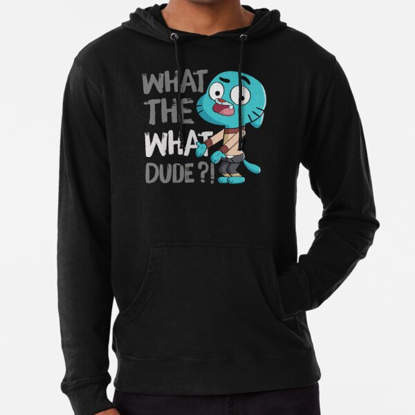 WHAT THE WHAT DUDE ?! Lightweight Hoodie