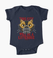 Cheshire POP! - This City Will Be A Litterbox One Piece - Short Sleeve