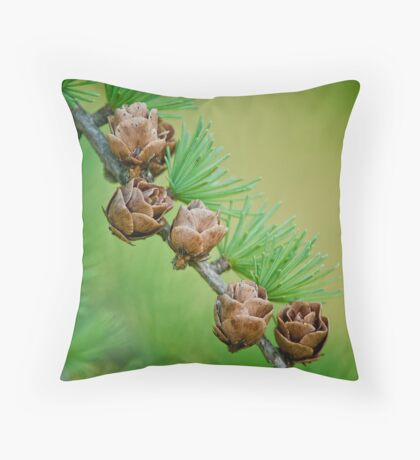 Nature's Abstract 6 Throw Pillow