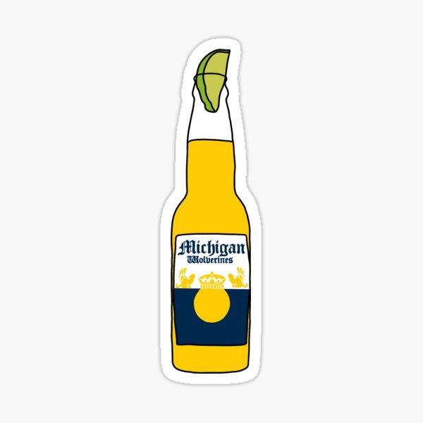 Michigan Corona Sticker