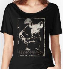 Revenge vegetarian, vegan shirt Women's Relaxed Fit T-Shirt