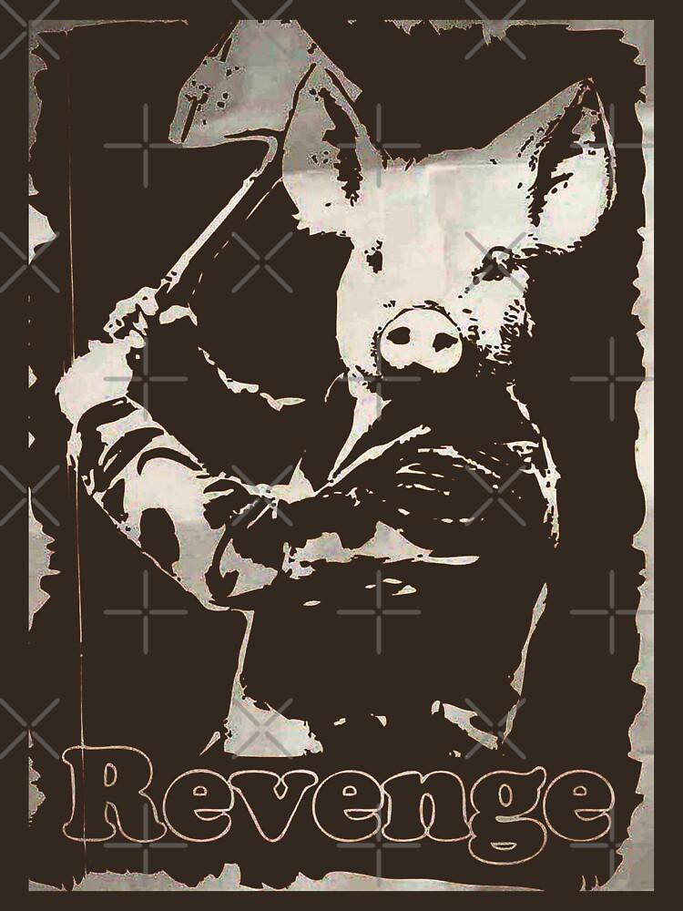 TShirtGifter presents: Revenge vegetarian, vegan shirt | Unisex T-Shirt