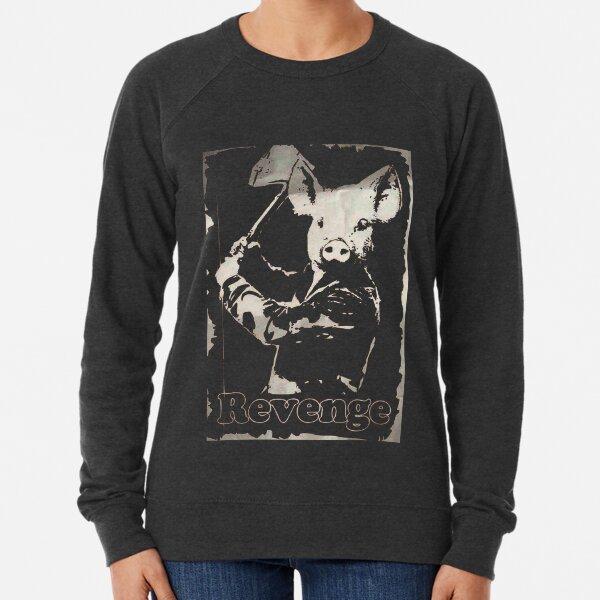 Revenge vegetarian, vegan shirt Lightweight Sweatshirt