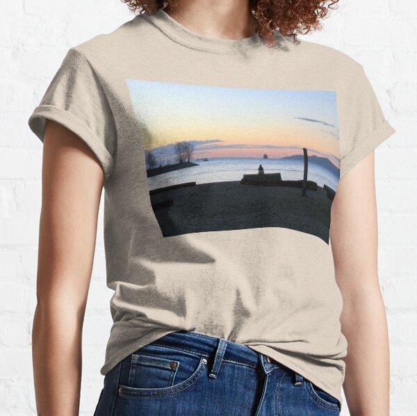 Kitts Beach Sunset Classic T-Shirt