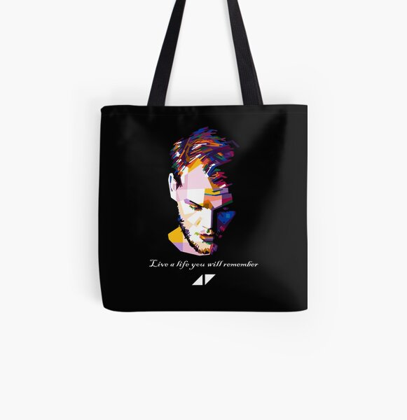 Amazing avicii design for music lovers All Over Print Tote Bag