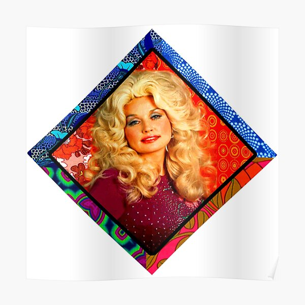 Dolly Retro Vibes  Poster