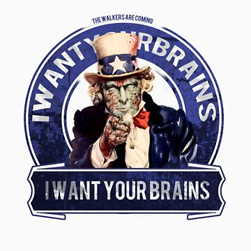 "I want You""re brains"" by TopsFantasy"