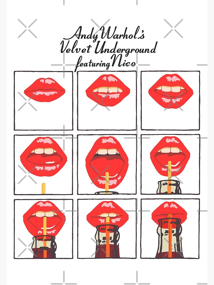 Andy Warhol's Velvet Underground featuring Nico Poster, Shirt, Sticker, Mask by RatRock