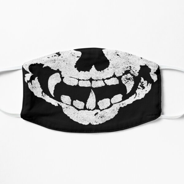 skull splat item mask Mask