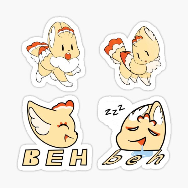 Kabitu Beh Variety Pack 02 Sticker