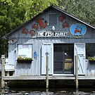Market on the Water by Laurie Perry
