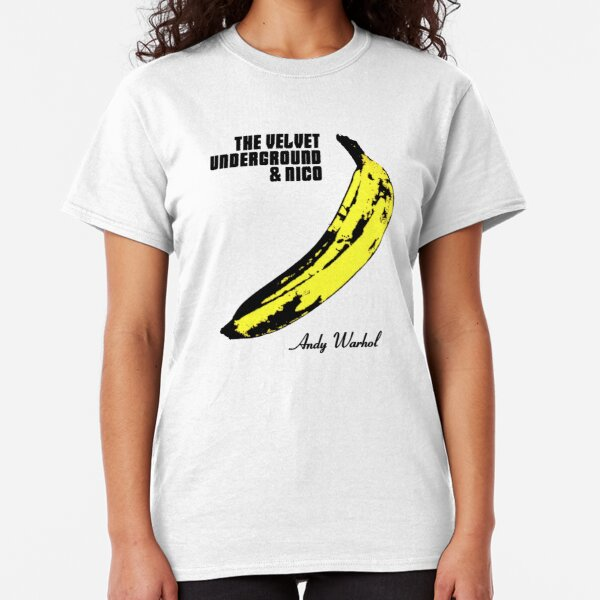 Velvet Underground & Nico Andy Warhol Shirt, Sticker, Hoodie, Mask Classic T-Shirt
