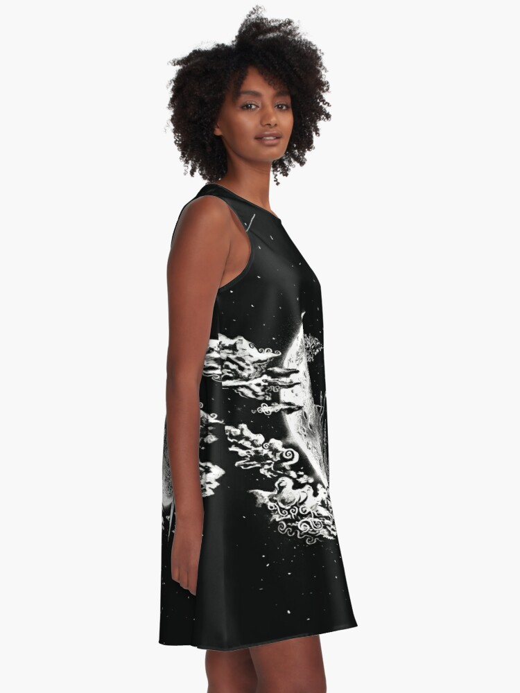 Alternate view of Moon House A-Line Dress
