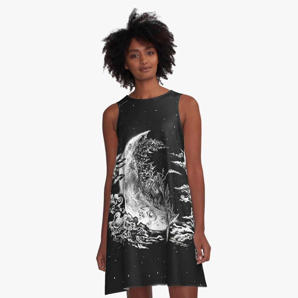 Moon House A-Line Dress