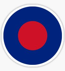 Royal Air Force Low Visibility Roundel Sticker