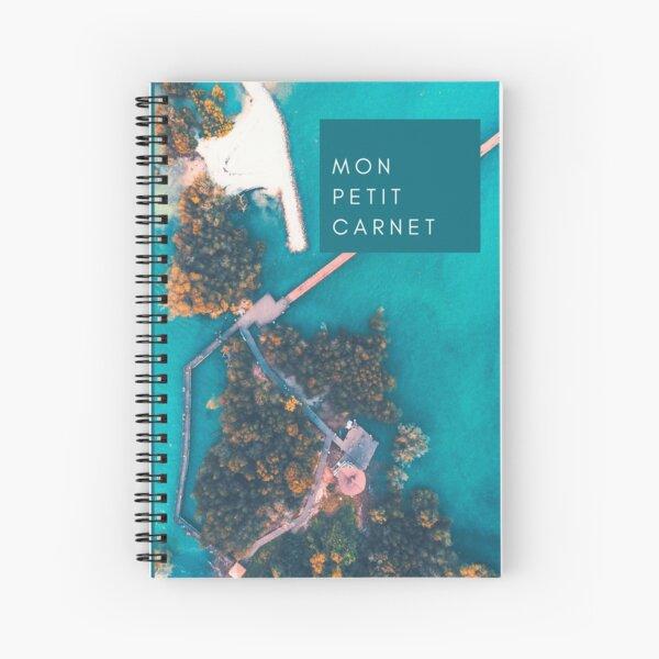 Tropical beach notebook Spiral Notebook