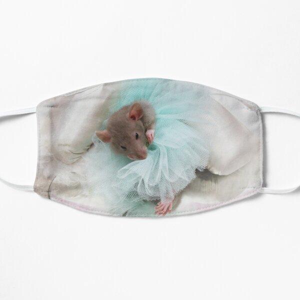 Dumbo Rat Ballerina Adjusting Her Tutu Flat Mask