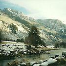 Penny Hot Springs in December by steveschwarz