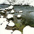 Snowy Creek 3 by steveschwarz
