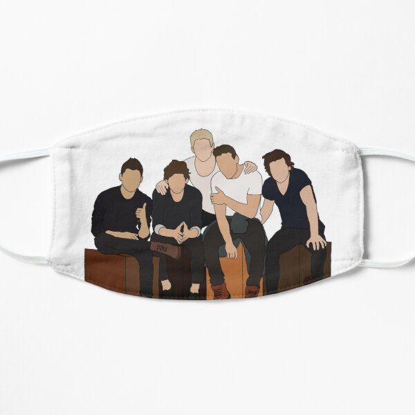 One Direction Flat Mask