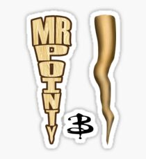 Mr. Pointy - Buffy Sticker