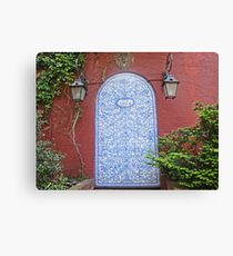 Door in Greenwich Village, NYC Canvas Print