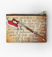 Buffy Slayer Scythe Studio Pouch