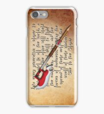 Buffy Slayer Scythe iPhone Case/Skin