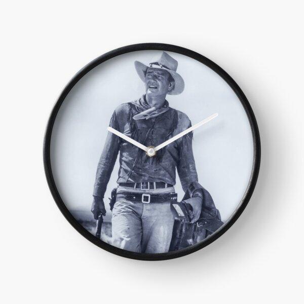 John Wayne in Hondo Clock