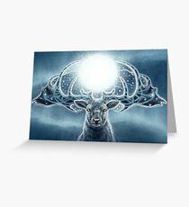Cradle of Starlight Greeting Card