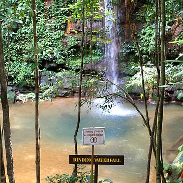 Dinding waterfall, Lambir National Park by styles