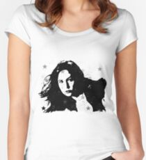 Dear, Pond Women's Fitted Scoop T-Shirt