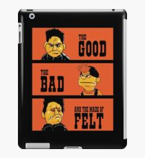 Angel - The Good, the bad, and the made of felt iPad Case/Skin