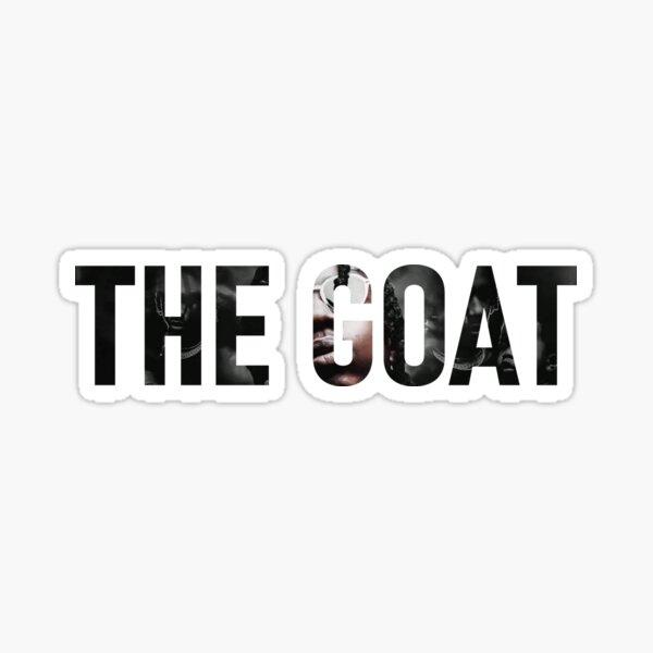The GOAT Sticker