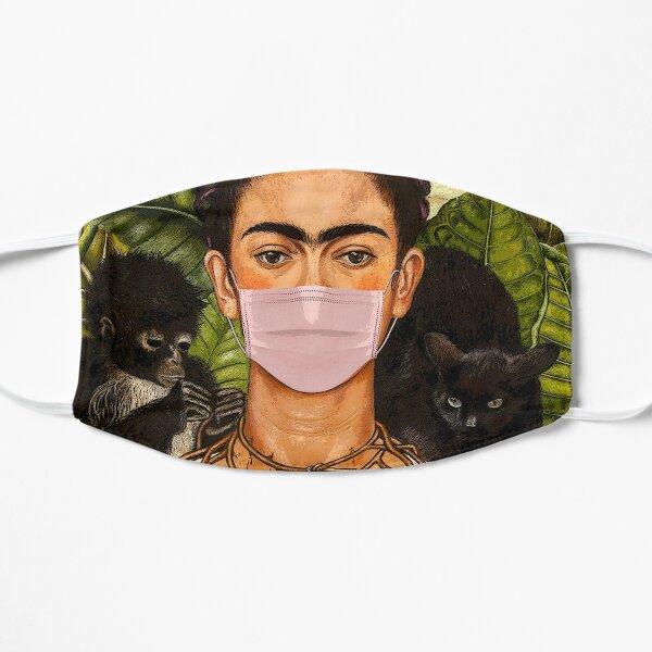Mantenga la calma y use una máscara Mascarilla plana