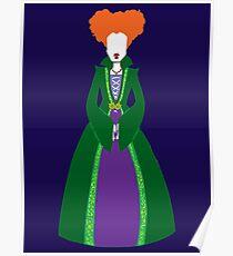 Hocus Pocus - Winnie Sanderson Poster