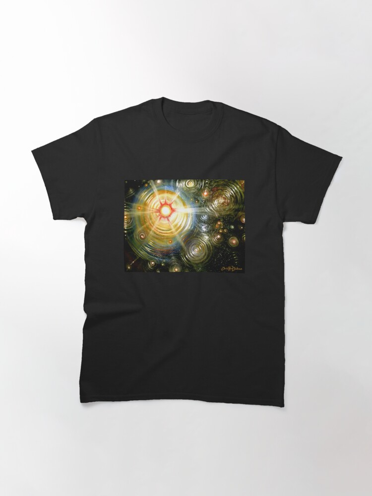 Alternate view of The Painter's Universe Classic T-Shirt
