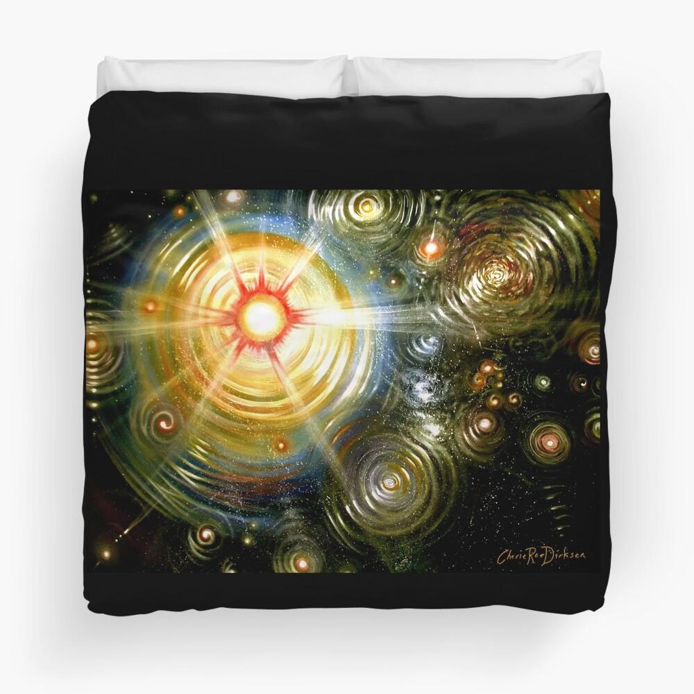 The Painter's Universe Duvet Cover