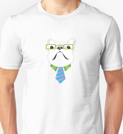 French Boxer - in work mode T-Shirt