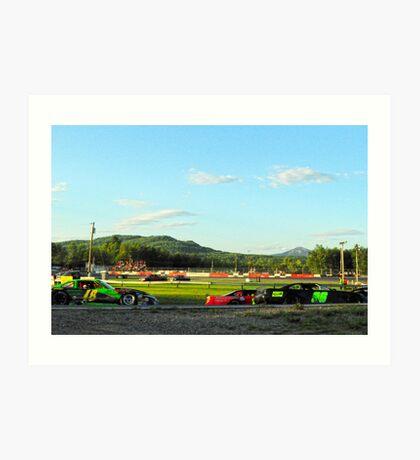 Race 3 Art Print