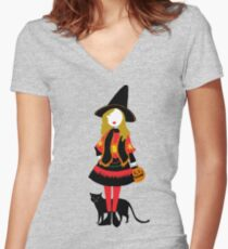 Hocus Pocus - Dani Women's Fitted V-Neck T-Shirt