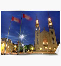 Notre Dame Cathedral Basilica, Ottawa, Canada Poster