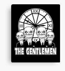 The Gentlemen Logo Canvas Print