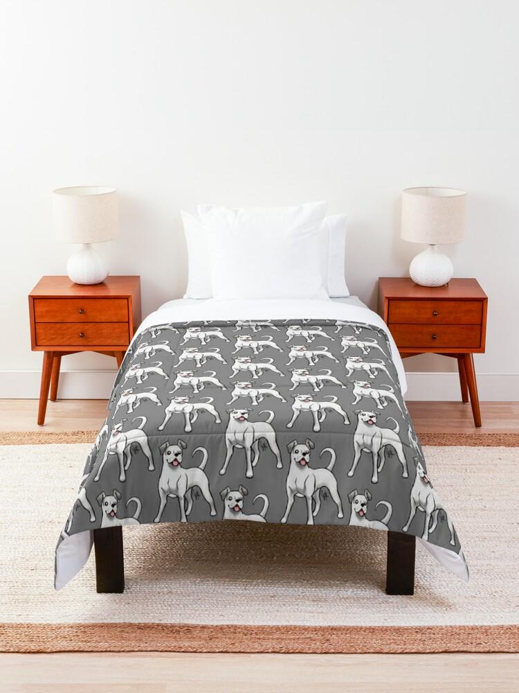 Alternate view of Boxer - White Natural Comforter