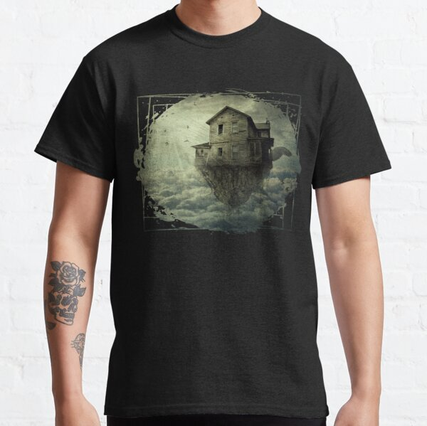 Surreal Flying House Classic T-Shirt